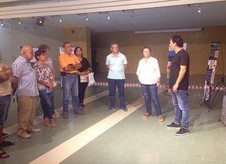 """Charla de inauguración de la exposición de Ecologistas en Acción sobre """"Contaminación por ozono estratosférico"""" en Montijo"""