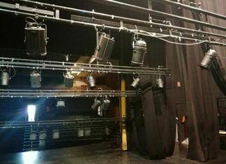 Escenario del Teatro de Montijo