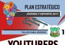 "Cartel ""Taller de youtubers"" para jóvenes en Montijo"