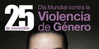 Cartel Día Mundial Contra la Violencia de Género en Montijo