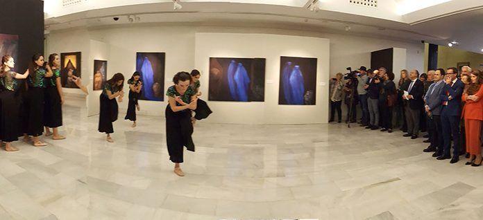 Inauguración de la exposición Gandhara, de Sofía Gandarias