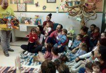 La Escuela Infantil Alborada de Montijo reinauguró la biblioteca del Centro