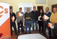 Comité autonómico de Ciudadanos con Junta Directiva del grupo local de Montijo