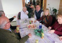Convivencia navideña en el Centro de Día de Guadiana del Caudillo