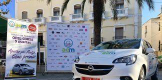 El Opel Corsa que sortea la Asociación de Empresarios de Montijo