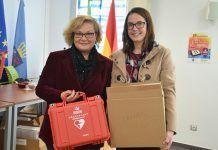 Montijo y Lácara disponen de dos nuevos desfibriladores donados por la Diputación de Badajoz
