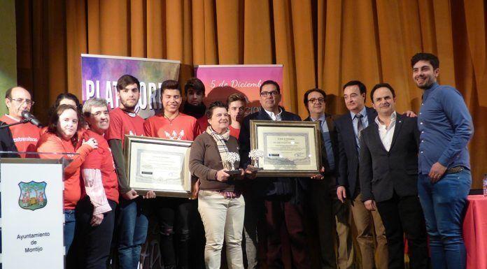 Premiados en la Gala del Día Internacional del Voluntariado en Extremadura