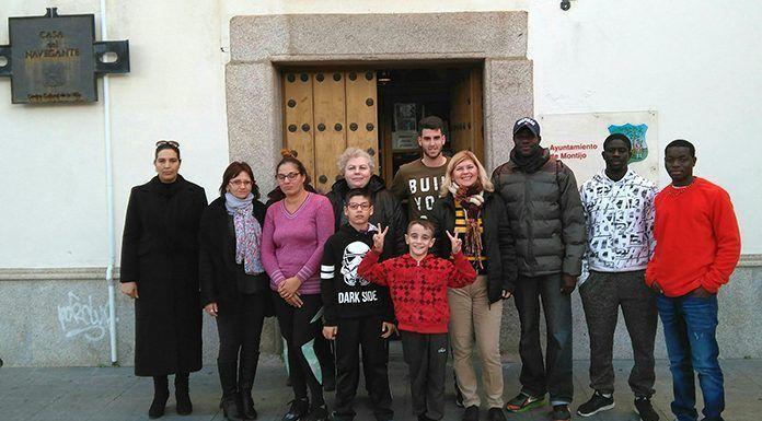 Participanes en el curso de informática organizado por la Asociación de Inmigrantes Vegas Bajas