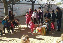 Una de las actividades de la Escuela Infantil Alborada de Montijo