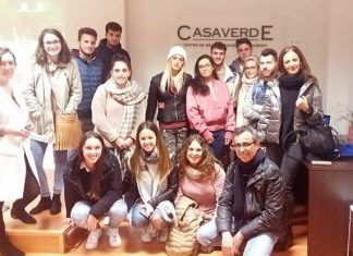 Alumnos de FP de Valdelacalzada visitan la Casa Verde
