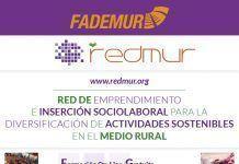 Cartel Redmur2017: Curso de emprendimiento e inserción sociolaboral para mujeres desempleadas