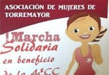 Cartel de la I Marcha solidaria de la Asociación de Mujeres de Torremayor