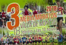 Cartel de la III Media Maratón Villa de Montijo 2018
