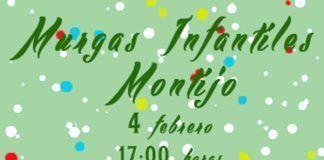 Cartel de la III Muestra de Murgas Infantiles del Carnaval de Montijo