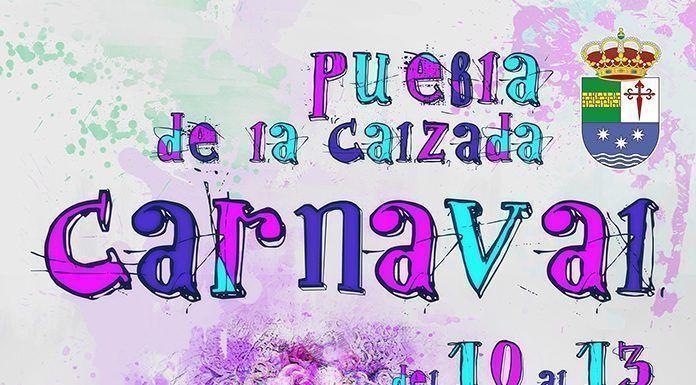 Cartel del Carnaval 2018 de Puebla de la Calzada