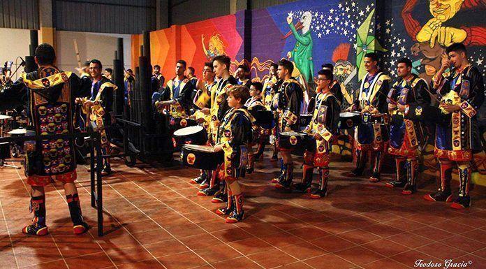 Concurso de Tamborada del Carnaval 2018 de Puebla de la Calzada (foto: Teodoro Gracia)