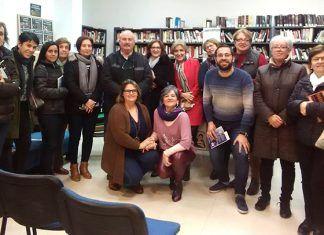 Encuentro con el autor en la Biblioteca de Valdelacalzada, con Caridad Jiménez y su libro Nihilismo en primera persona