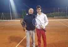 Juan Antonio Gragera Campeón de la prueba de Judex A de tenis de Don Benito