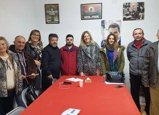 Nueva ejecutiva local del PSOE de Lobón