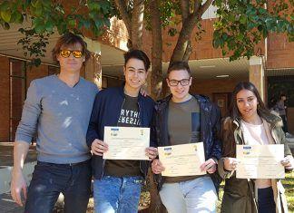 Alumnos del IES de Valdelacalzada en la Olimpiada de Física
