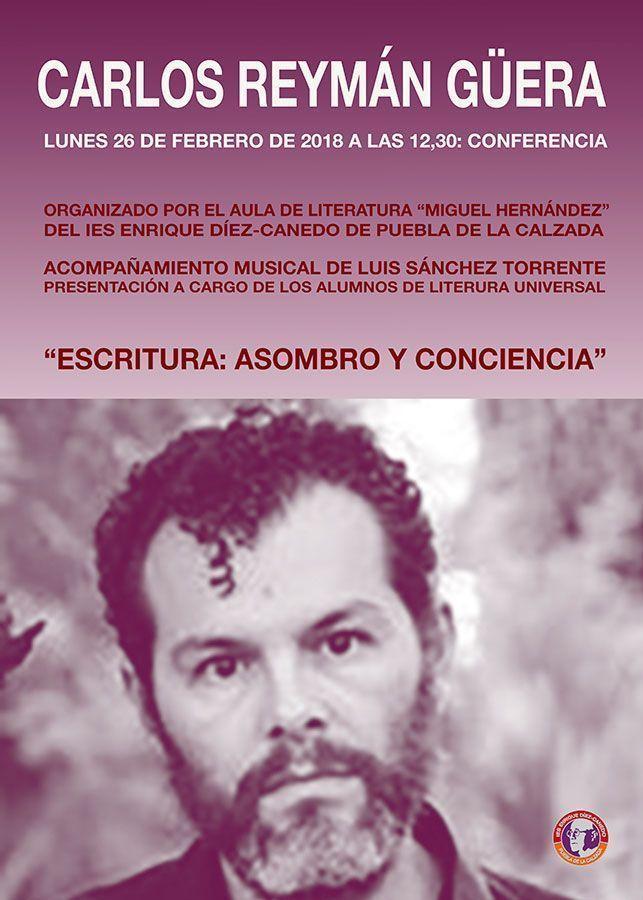 Conferencia del poeta Carlos Reymán Güera