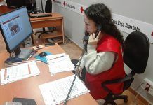 Cruz Roja hace seguimiento telefónico a los usuarios de los Programas de Mayores por la ola de frío