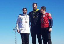 Javier Cienfuegos en el Campeonato de Extremadura celebrado en Montijo
