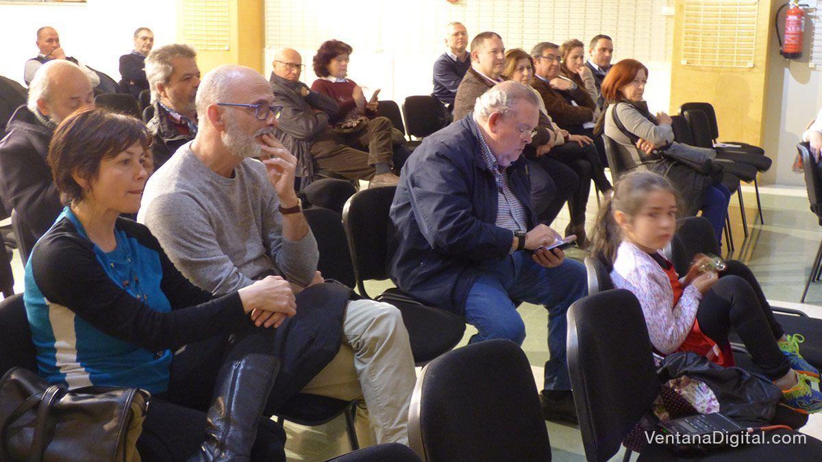 Público asistente a la presentación en Montijode la Fundación Yehudi Menuhin
