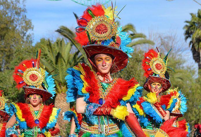 Participantes en la Convivencia de Carnaval de Barbaño 2018