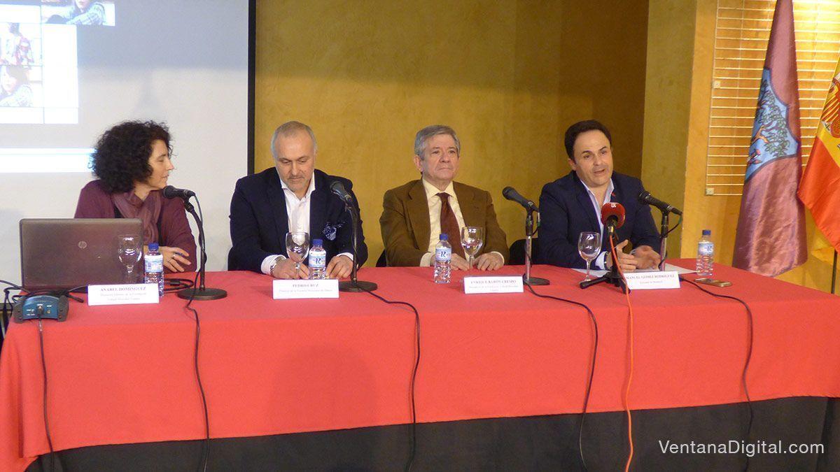 Presentación en Montijo de la Fundación Yehudi Menuhin Extremadura
