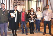 Reunión de la Asociación de Vecinos El Valle con Cs Montijo