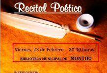 Recital poético con Vanesa Cordero y Rafael María Cañete