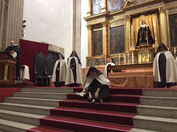 """""""Teresa, la jardinera de la luz"""" en la parroquia de San Pedro"""