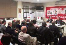 José María Vergeles participó en un acto del PSOE en Puebla de la Calzada