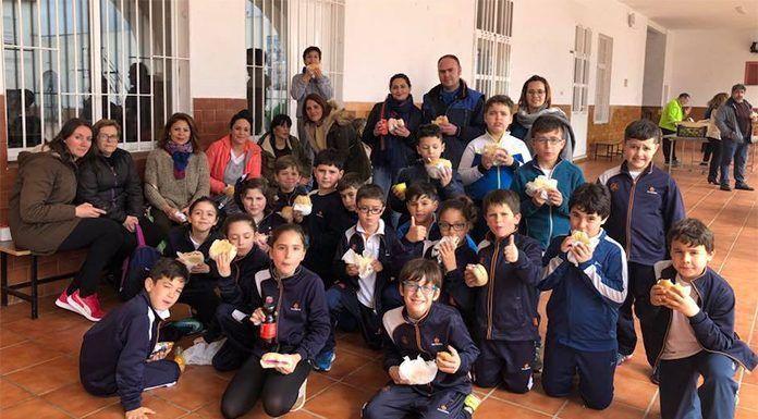 Bocadillo Solidario en el Colegio Salesianos de Puebla de la Calzada
