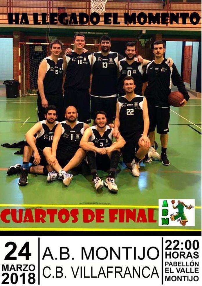 Cartel AB Montijo - CB Villafranca