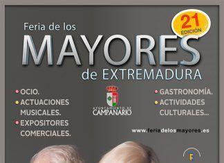 Cartel de la Feria del Mayor de Badajoz 2018
