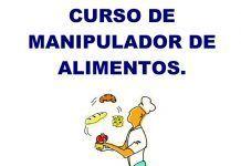 Cartel del Curso de Manipulador de Alimentos en Montijo