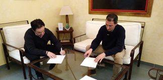 El Ayuntamiento de Montijo y Cruz Roja firman un convenio para la cobertura de servicios preventivos