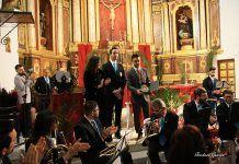 El pregón de Juan Mari Delfa abre la Semana Santa poblanchina (foto Teodoro Gracia)