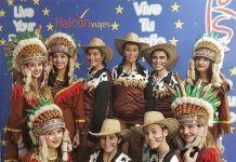"""Miembros de la Escuela de Baile Jesús y Sandra en la final nacional del concurso """"Vive tu sueño"""""""