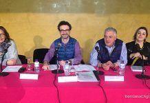 Miembros de la junta directia de la AEM en la reunión de expositores FEYCOM 2018