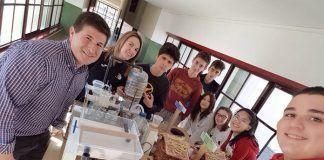 Participantes en el programa Proyect@ del IES Extremadura de Montijo