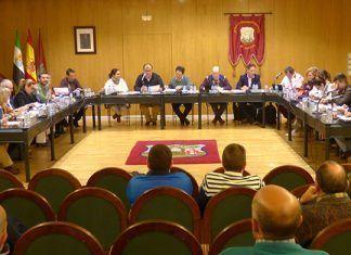 Pleno de marzo de 2018 del Ayuntamiento de Montijo