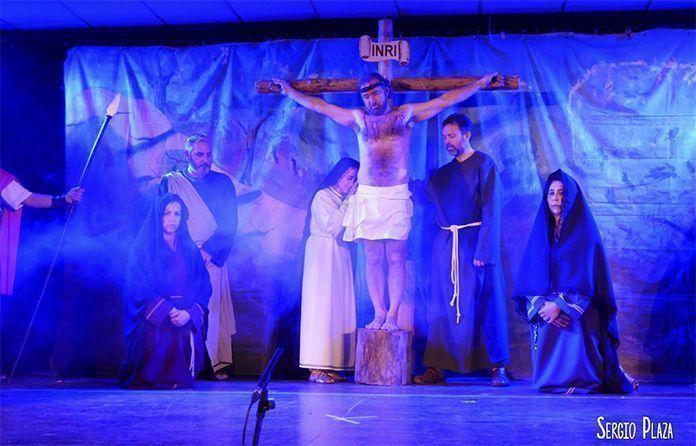 Representación de La Pasión. Cristo, Misterio de Pasión y Vida en Guadiana del Caudillo