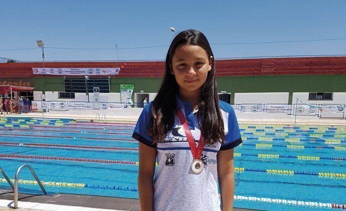 Mª Ángeles Sánchez campeona de Extremadura de Invierno en Cáceres.