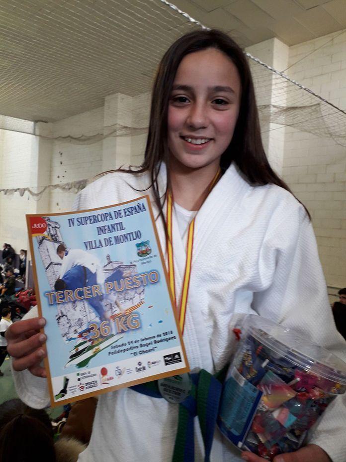 Soledad Salguero Capellán en la IV Supercopa de España Infantil Villa de Montijo