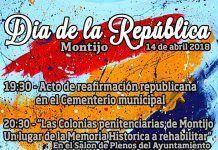 Cartel 14 Abril Día de la República en Montijo