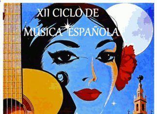 Cartel del XII Ciclo de Música Española del Conservatorio de Montijo