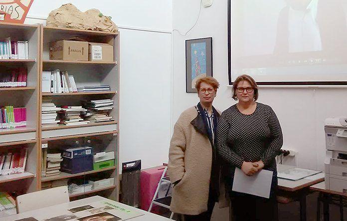 Charla sobre la violencia de género en el IES María Josefa Baraínca de Valdelacalzada